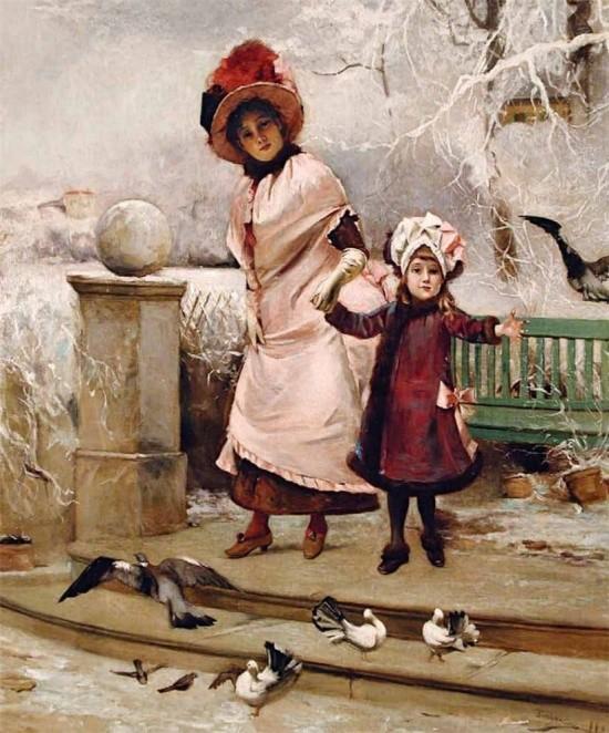 художник Auguste Emile Pinchart (Огюст-Эмиль Пинчарт) картины – 31
