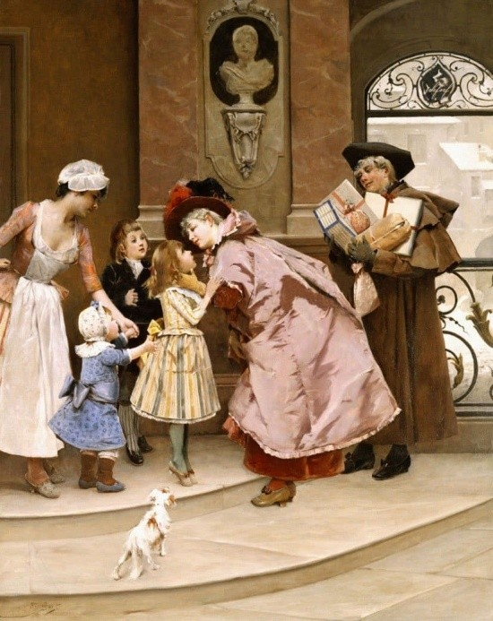художник Auguste Emile Pinchart (Огюст-Эмиль Пинчарт) картины – 32