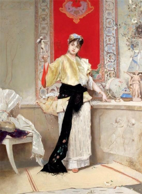 художник Auguste Emile Pinchart (Огюст-Эмиль Пинчарт) картины – 34