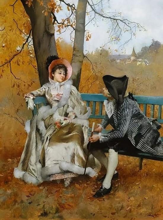 художник Auguste Emile Pinchart (Огюст-Эмиль Пинчарт) картины – 35
