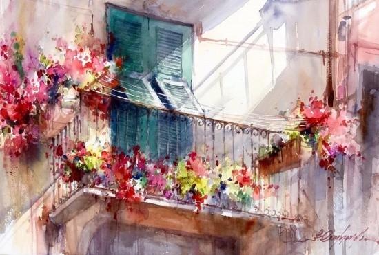 художник Фабио Сембранелли (Fabio Cembranelli) картины – 25