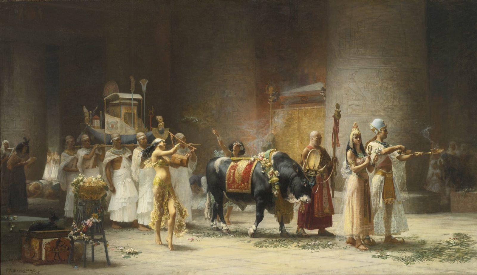 Художник Frederick Arthur Bridgman (1847 – 1928). Волнующие тайны Каира и Алжира