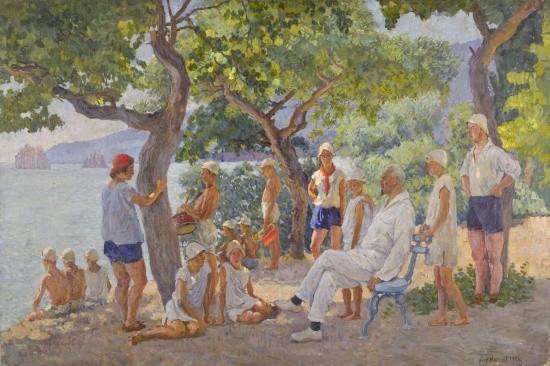 художник Илья Машков картины – 30