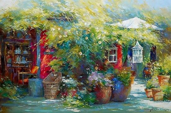 художник Йохан Мессели (Johan Messely) картины – 05