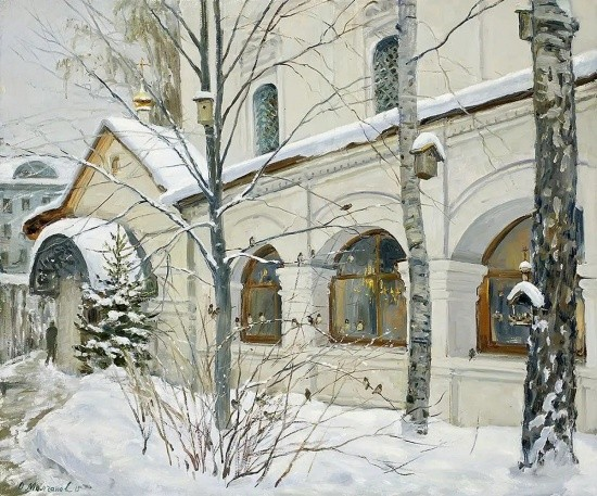 художник Олег Иванович Молчанов картины – 02