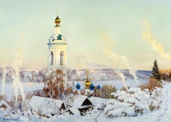 художник Олег Иванович Молчанов картины – 11