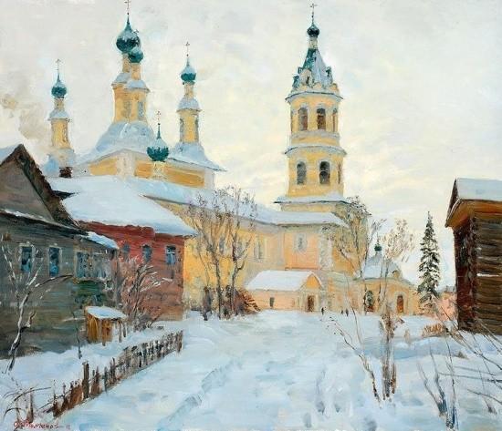 художник Олег Иванович Молчанов картины – 14