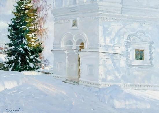 художник Олег Иванович Молчанов картины – 19