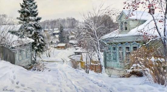 художник Олег Иванович Молчанов картины – 21
