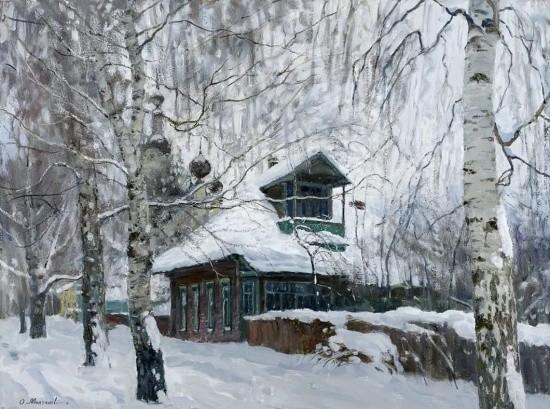 художник Олег Иванович Молчанов картины – 23