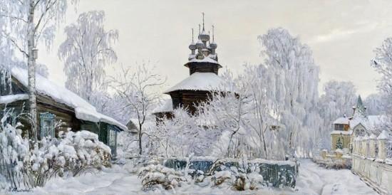 художник Олег Иванович Молчанов картины – 30