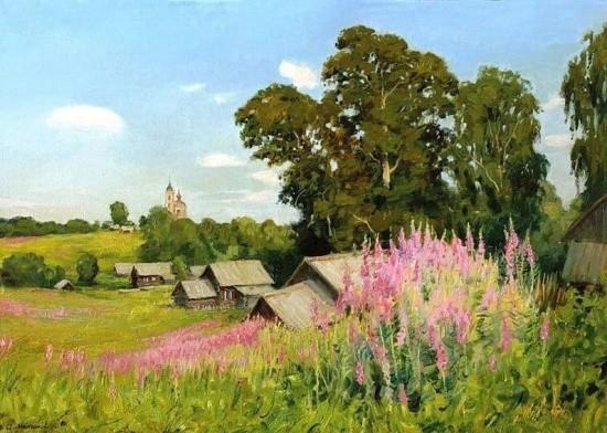 художник Олег Иванович Молчанов картины – 40