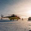 Санитарная авиация в Новосибирской области (10 фото)