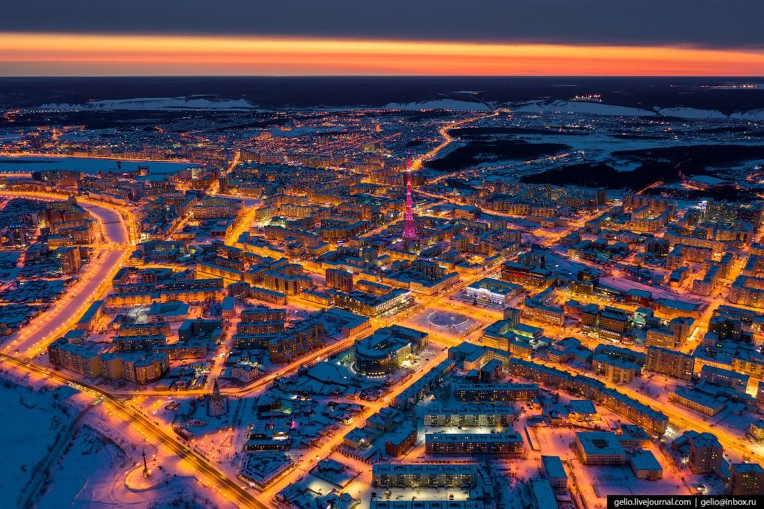 Якутск с высоты — крупнейший город на вечной мерзлоте (10 фото)