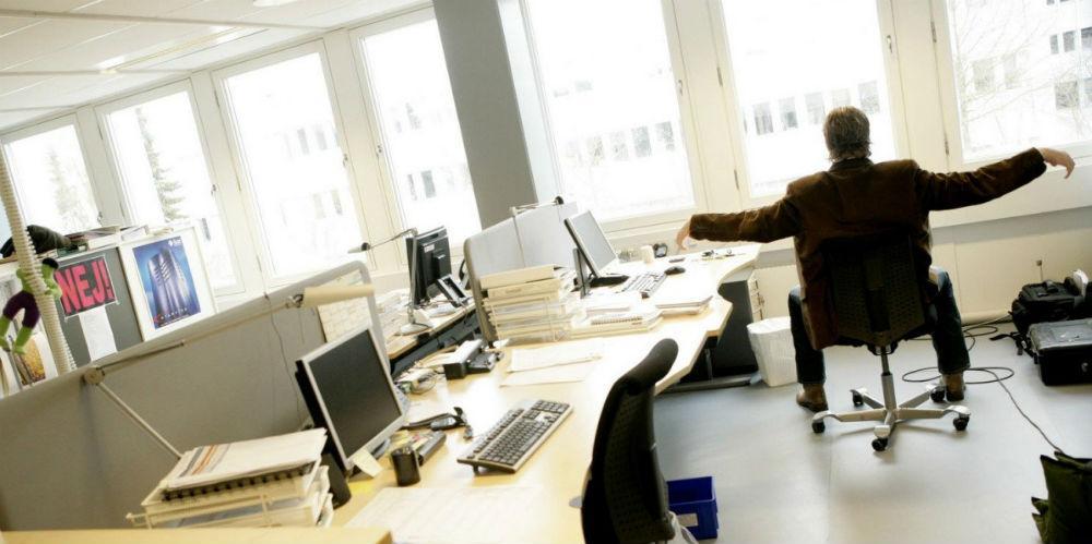 Директор - бездельник (офисное позитивно ностальгическое)