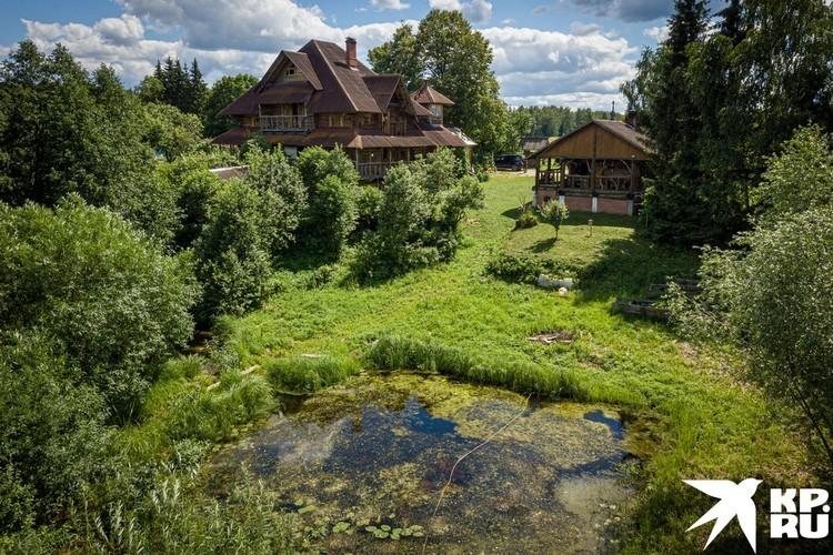 Билецкий купил участок в заброшенной деревне Огарково