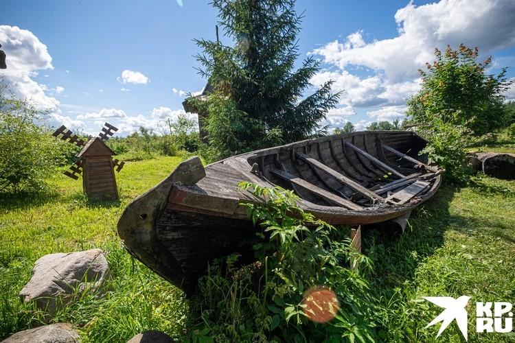 Живописное место в деревне Агарково