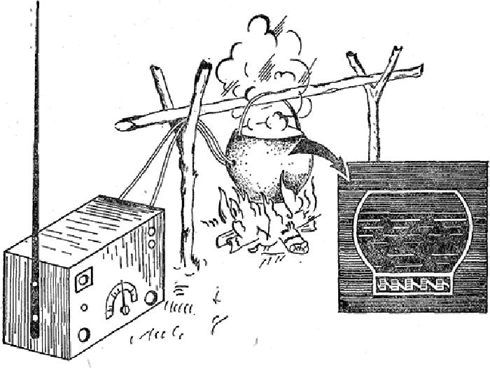 Партизанский котелок, производивший электричество для зарядки раций благодаря жару от костра /