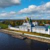 Ипатьевский монастырь – колыбель династии Романовых (с высоты)