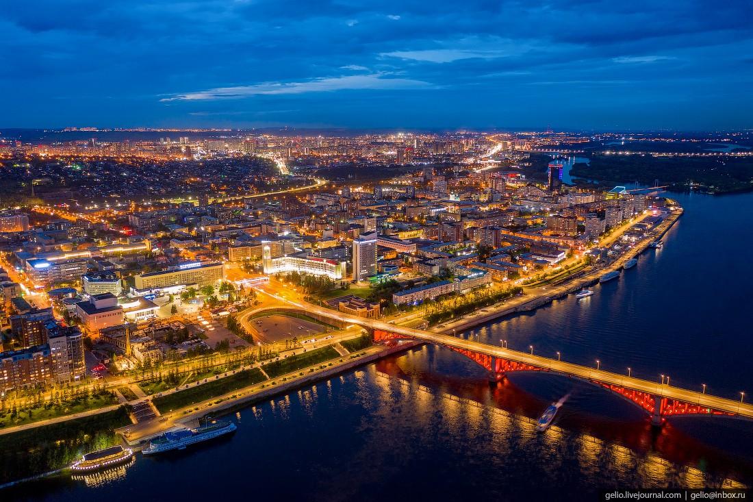 Красноярск с высоты (64 фантастических фото)