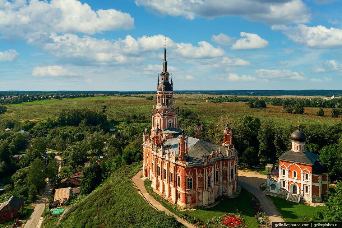 Подмосковье с высоты — сердце России (69 фото)