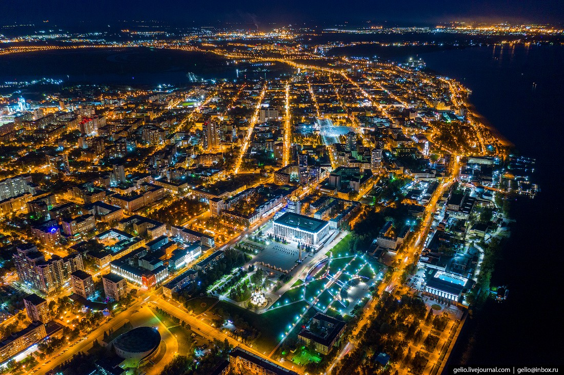Фото Самары с высоты — космический город на Волге (68 фото)