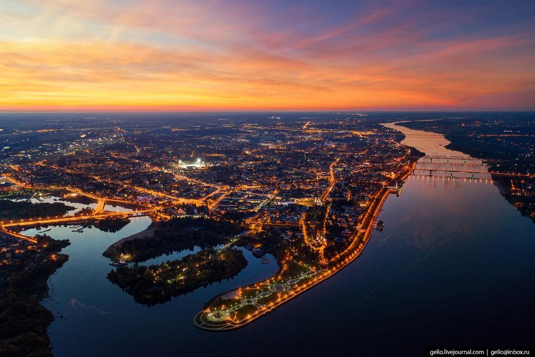 Ярославль с высоты — столица Золотого кольца России (59 фото)