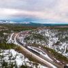 Железные дороги Якутии — перевозки в экстремальных условиях (44 фото)