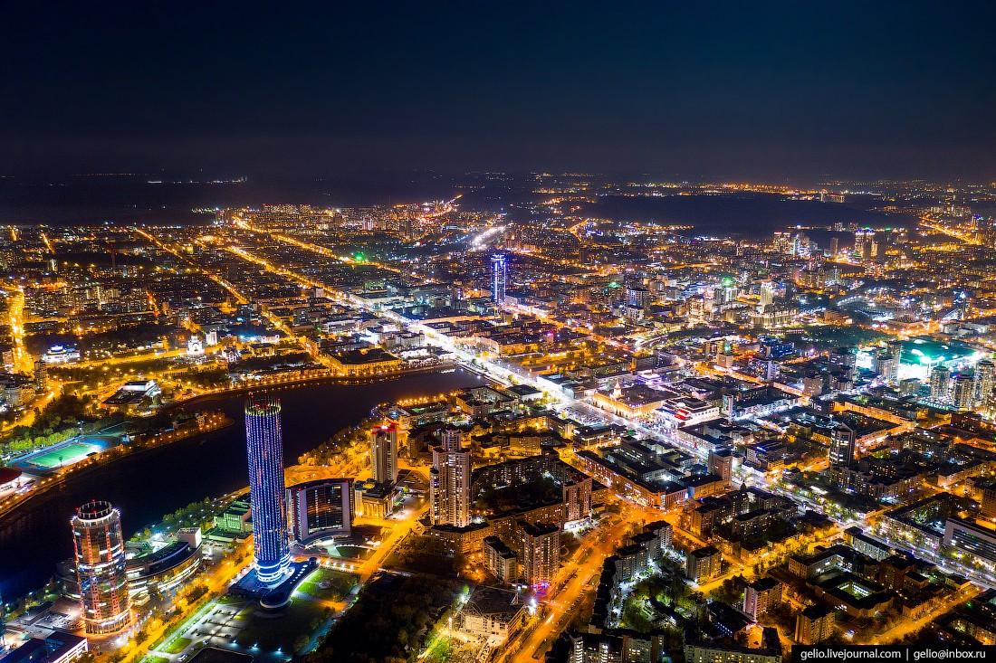 Потрясающие виды Екатеринбурга с высоты птичьего полёта (73 фото)