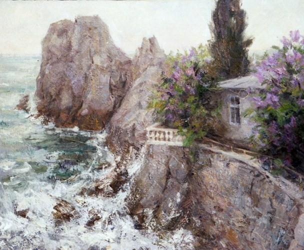Landscape painting,contemporary Russian artist,oil painting (11)
