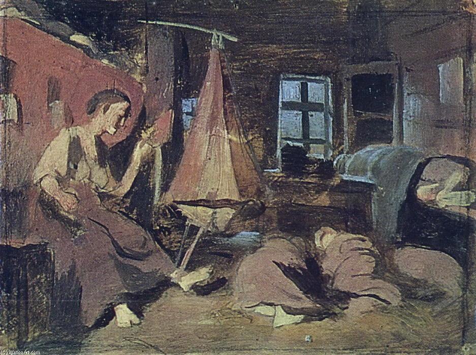 Как на Руси спали крестьяне