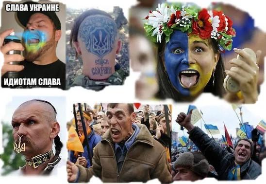 """Почему """"украинцы"""" ведут себя как дебилы"""