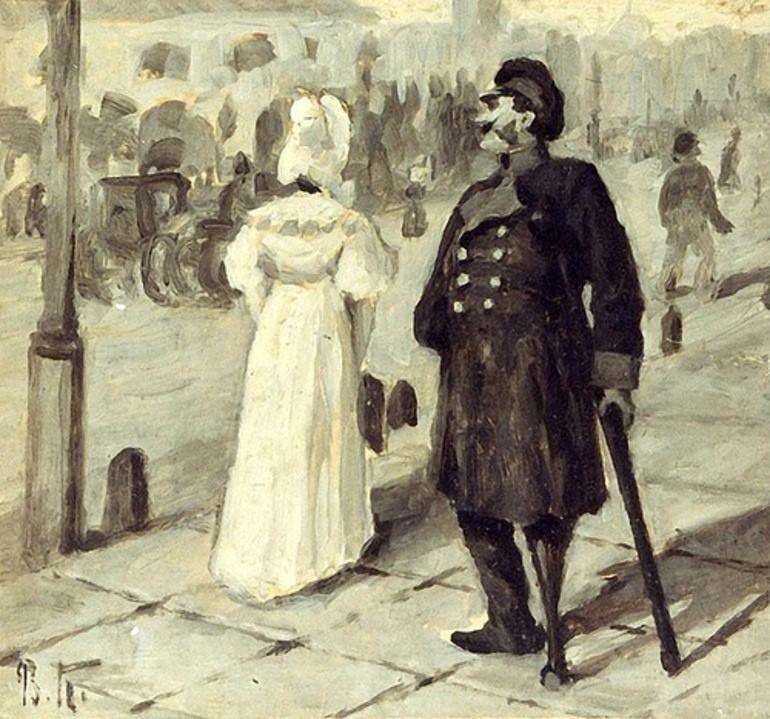 """""""Повесть о капитане Копейкине"""" Из десятой главы поэмы Н. В. Гоголя «Мертвые души»"""