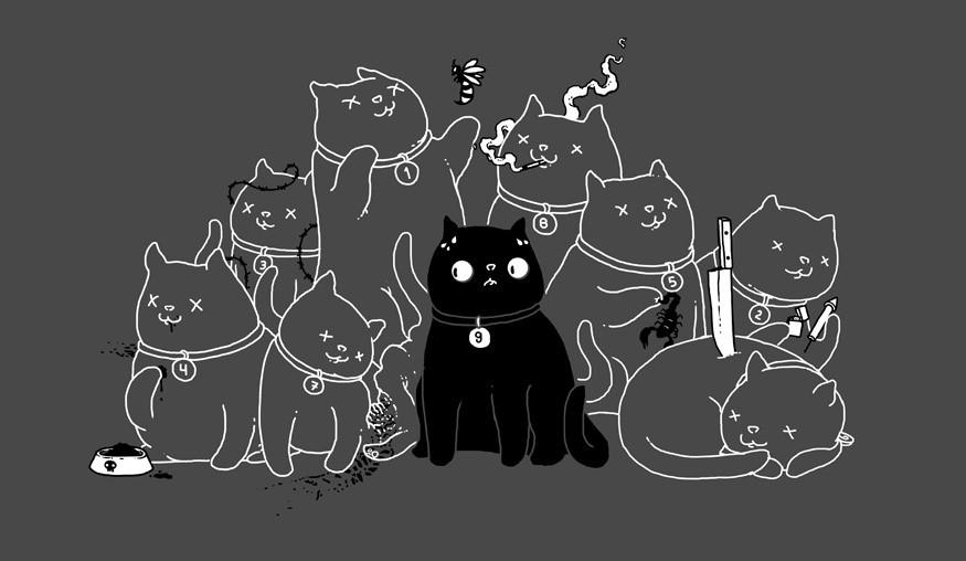 """""""У каждой кошки девять жизней..."""" рассказ. Автор Петр Бормор"""