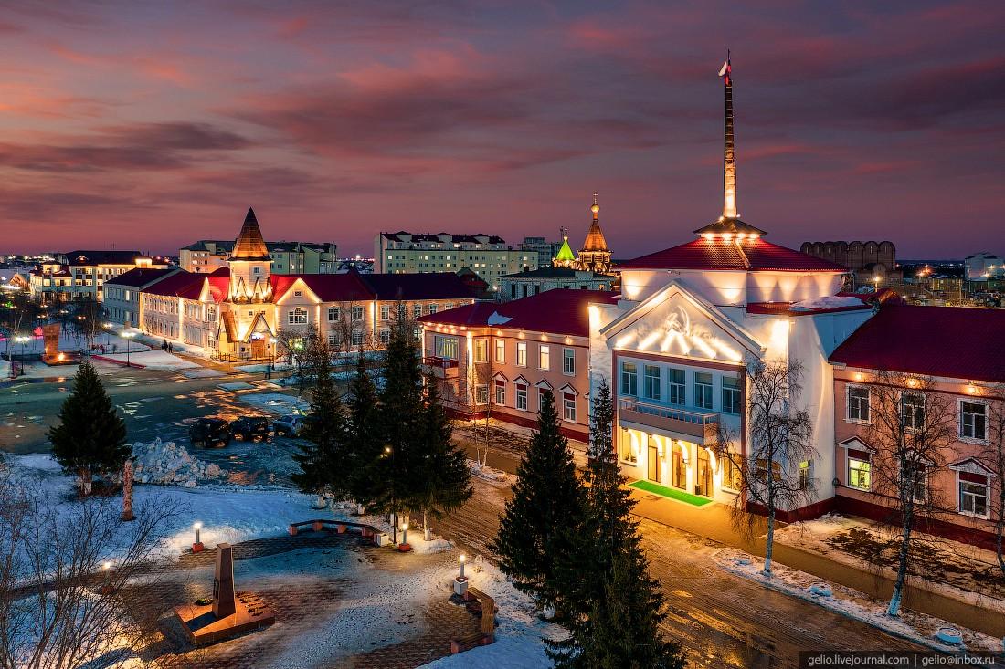 Нарьян-Мар с высоты — северный город у Белого моря (31 фото)