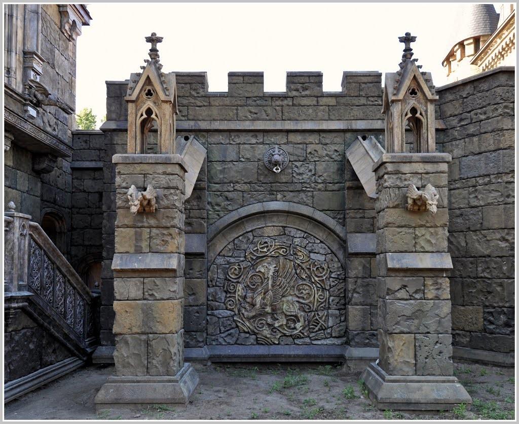 """Замок """"Гарибальди"""" в селе Хрящевка"""