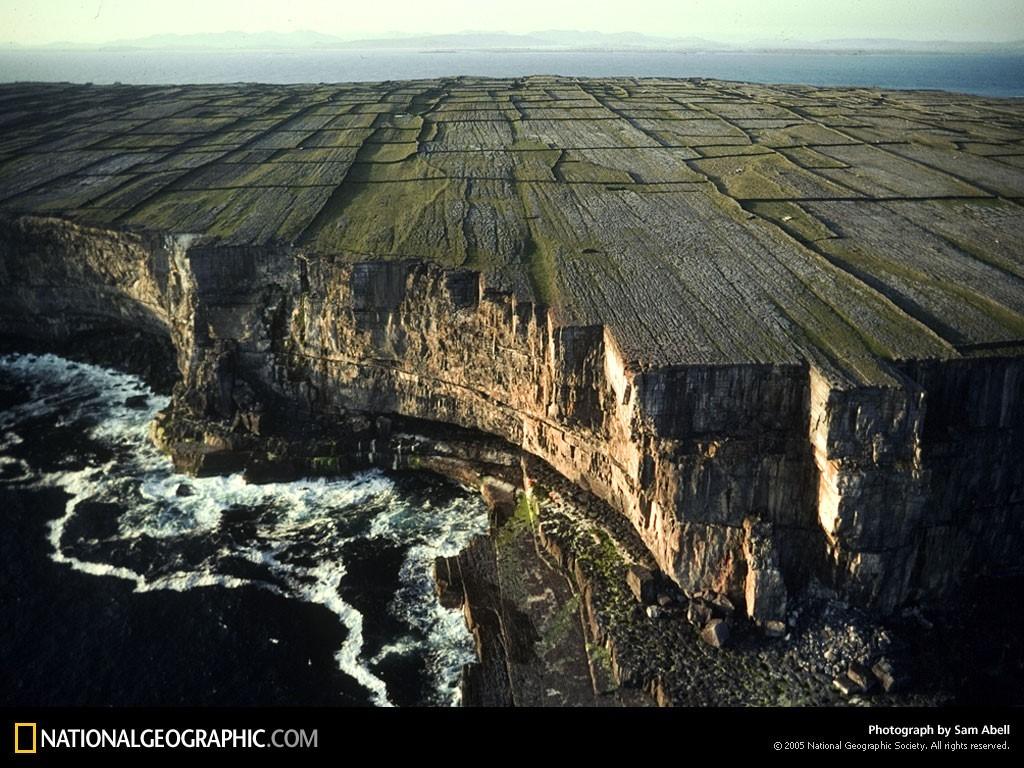 Каменные заборы Ирландии