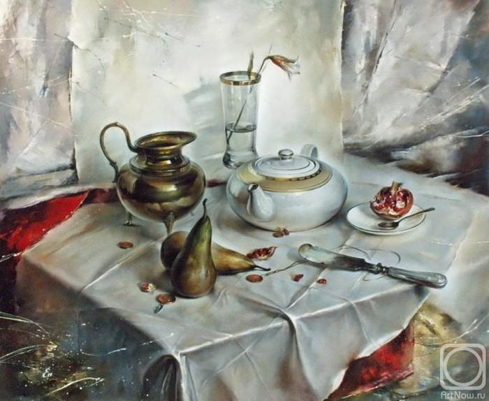 Igor-Egorov.-Natyurmort-s-grushami (700x574, 367Kb)
