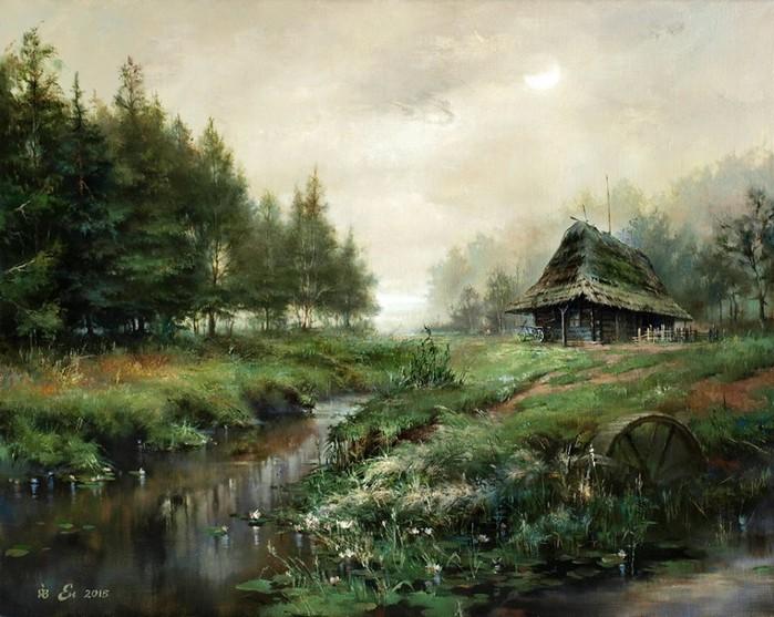 Igor-Egorov.-Sentyabrskoe-utro (700x557, 402Kb)