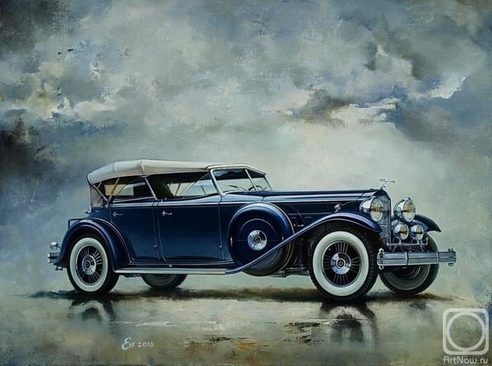 Igor-Egorov.-Kadillak-Series-452-Dual-Cowl-Phaeton-1932-g.-2013 (700x520, 326Kb)