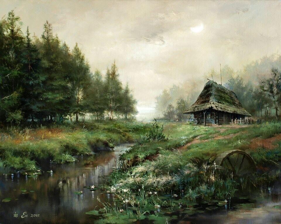 Белорусский художник Игорь Егоров.
