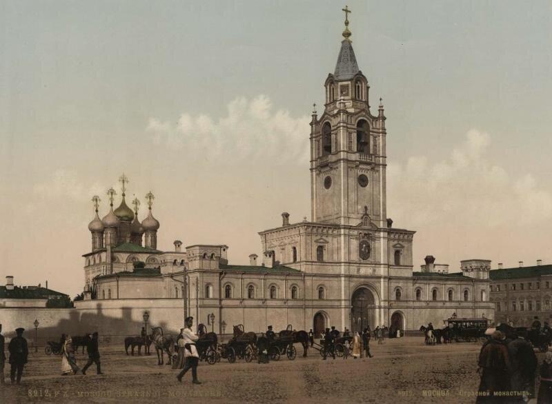 Страстной монастырь Неизвестный автор, 1890 - 1906 год, г. Москва, Страстная пл., МАММ/МДФ.