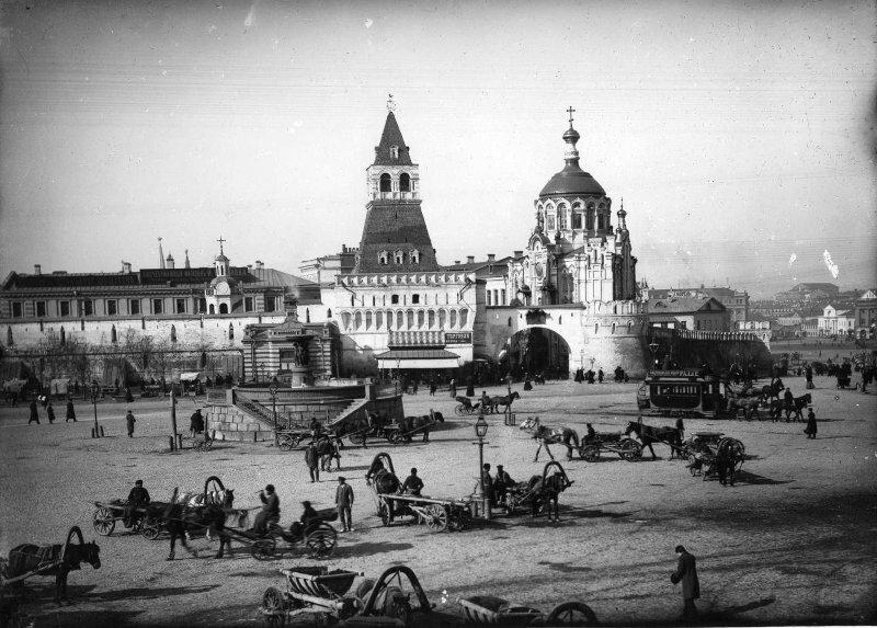 Владимирские ворота Петр Павлов, 1890 - 1909 год, г. Москва, Лубянская пл., МАММ/МДФ.