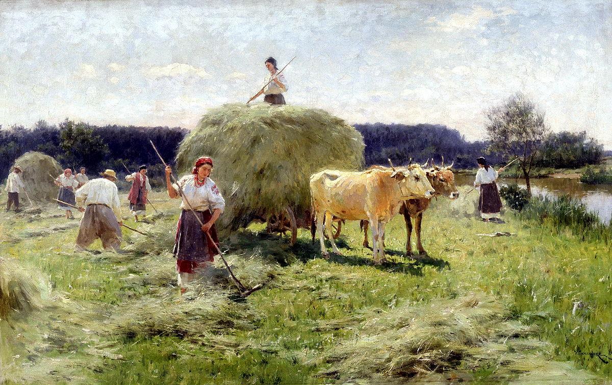 Работы русского художника Пимоненко Николая Корниловича (1862-1912)