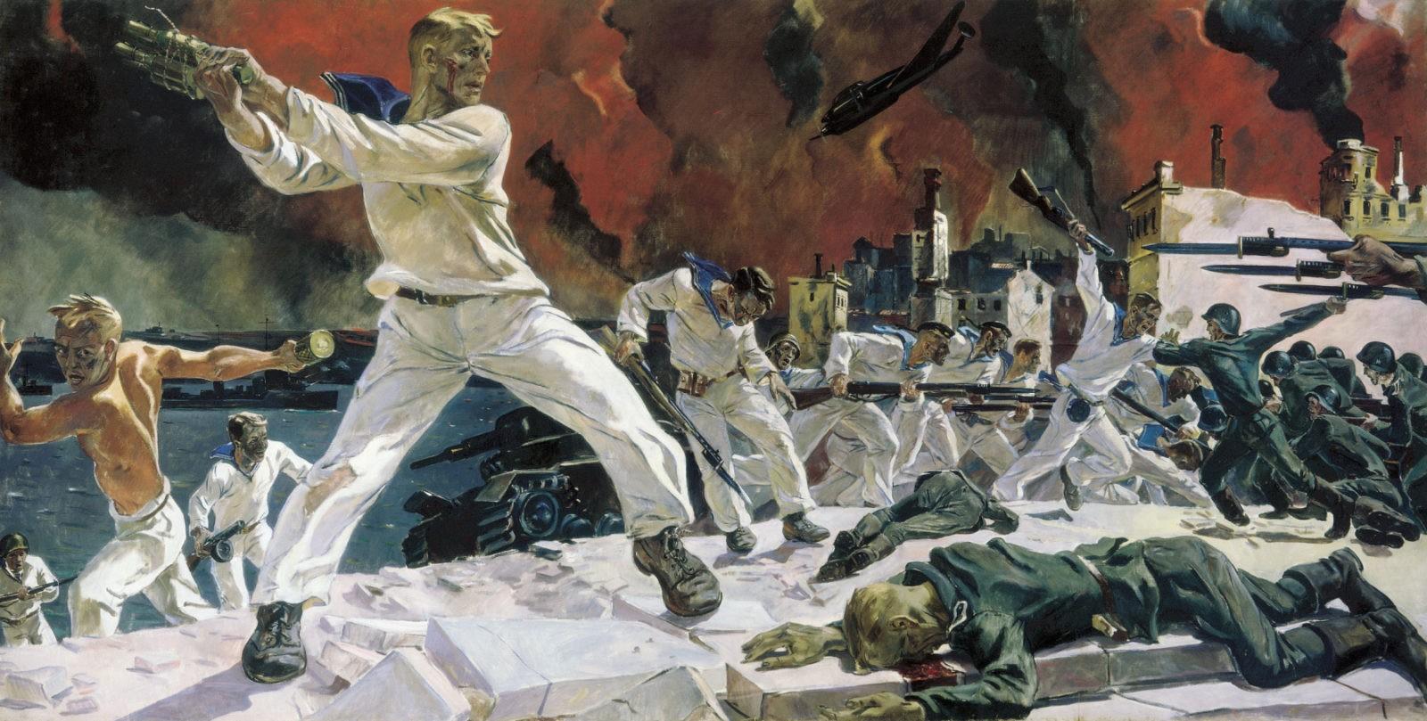 Социалистический реализм художника Александра Дейнека
