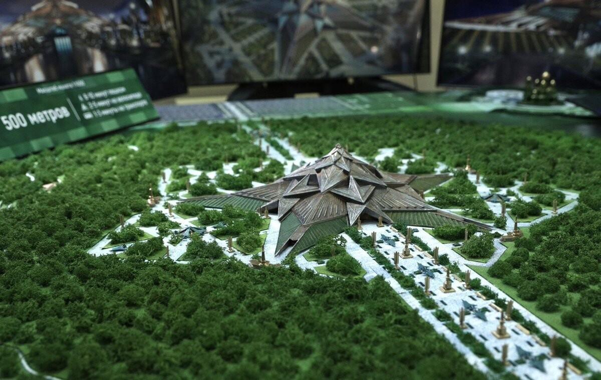 Проект главного музея ВС РФ