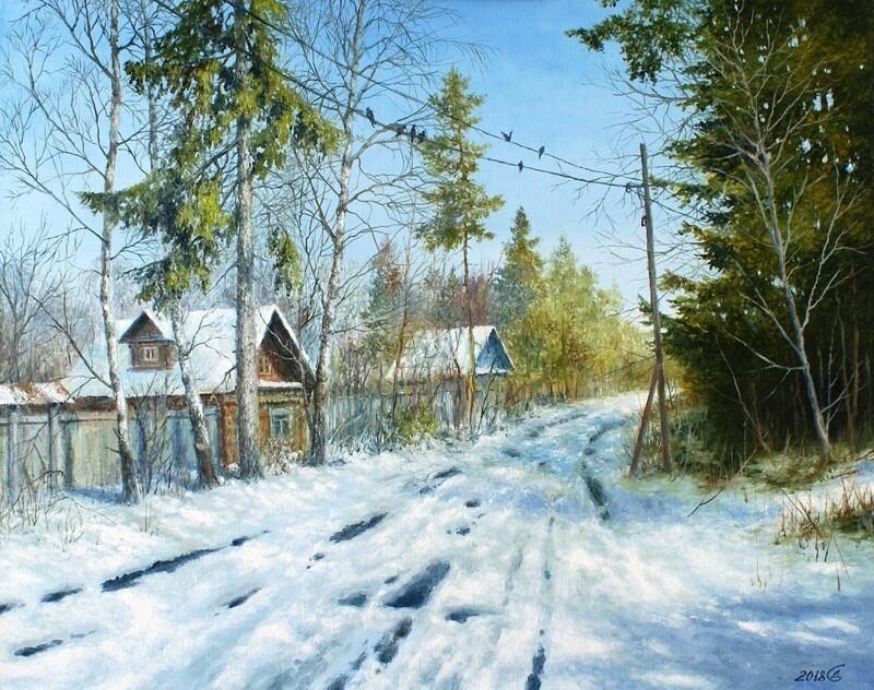 Замечательные картины Дорофеева Сергея Владимировича