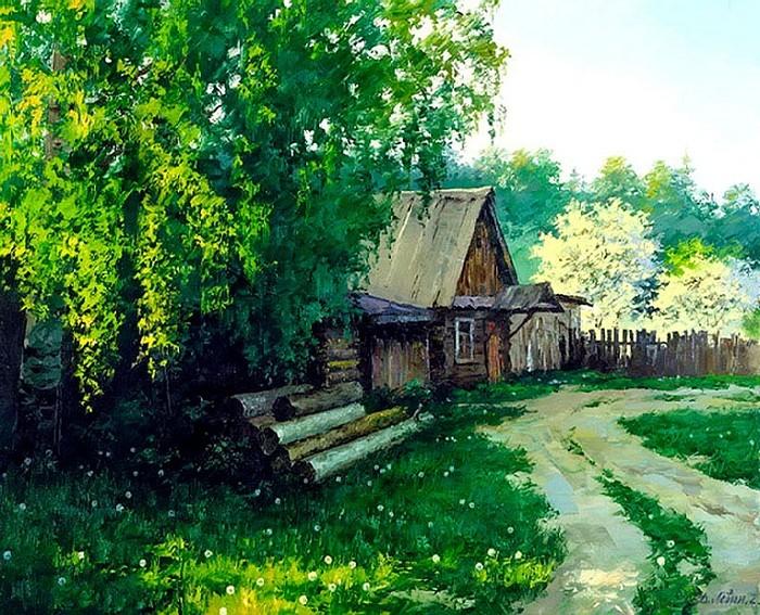 В лесничестве. Автор: Дмитрий Левин.