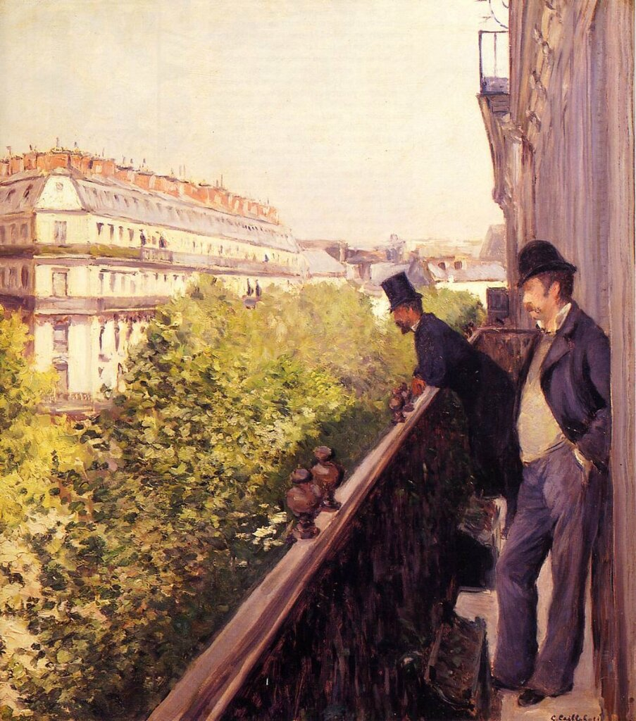 A Balcony  -  1880 - Private collection -  Painting - oil on canvas.jpg
