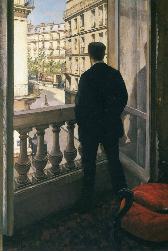 A Young Man at His Window  - 1875.jpg